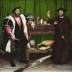 The Ambassadors, by Holbein the Younger