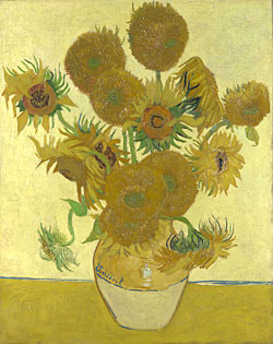Sunflowers, by Vincent van Gogh